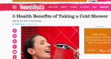 Dr. Ambardar talks to Women's Health about the benefits of Hydrotherapy