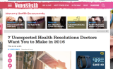 Dr. Ambardar talks to Women's Health about Unconventional New Year'sResolutions